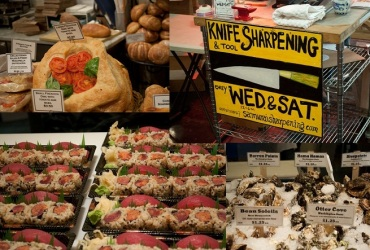 Chelsea Market- Amy`s Bakery, Lobster`s place