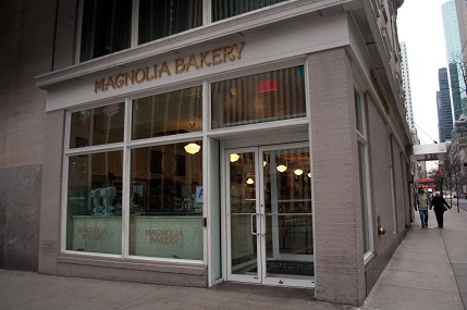 Magnolia Bakery at the Rockefeller Center