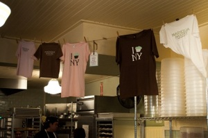Merchandise at the Magnolia Bakery New York