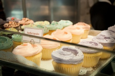Cupcakes at the Magnolia Bakery New York