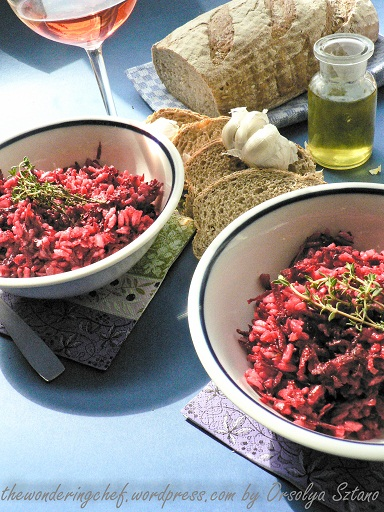 Beetroot Risotto With Lancashire Cheese Recipes — Dishmaps